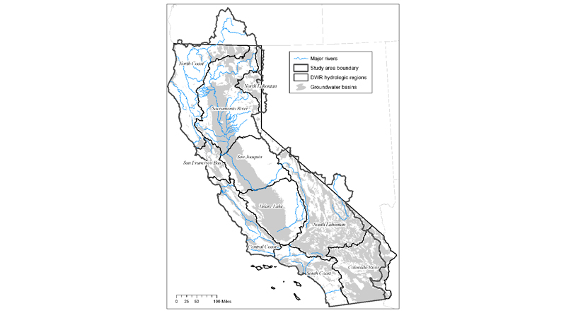 Mapping Groundwater Dependent Ecosystems in California